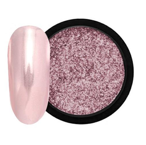 JUSTNAILS Mirror-Glow Nagel Pigment - Mulberry