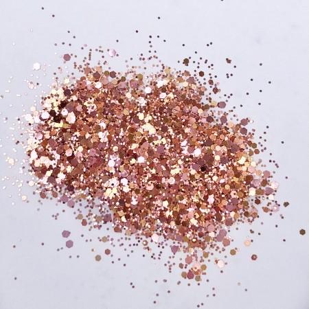 JUSTNAILS Glitter Juna