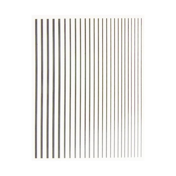 JUSTNAILS Flexible Stripes Set silber