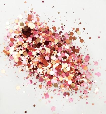 JUSTNAILS Glitter Mavea